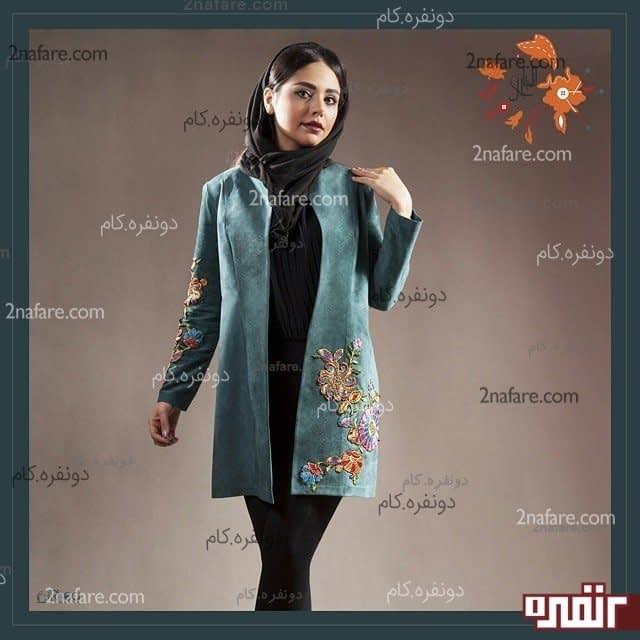 مانتو های شیک زیبا در اصفهان مانتو مجلسی شیک با طرح های جدید و ایرانی • دونفره