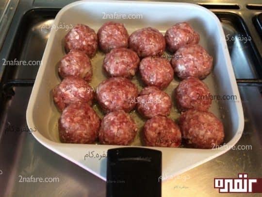 طرز تهیه گوشت قلقلی برای فسنجان