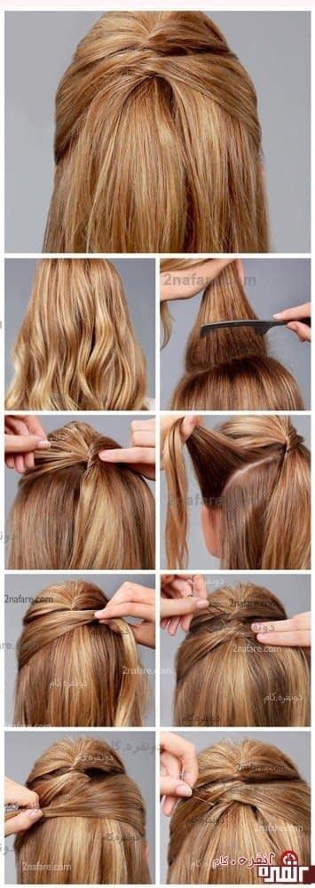 مدل موی دخترونه و ساده
