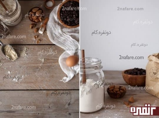مواد و مخلفات کوکی بادام زمینی