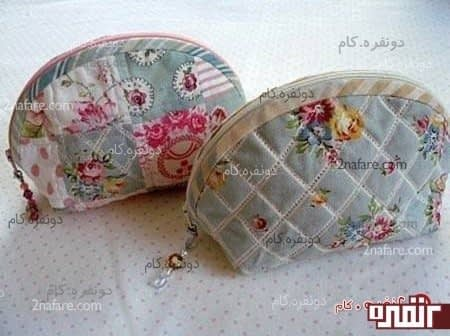 کیف آرایش زیپی