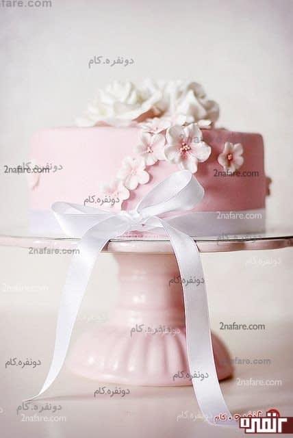 کیک تولد با فوندانت