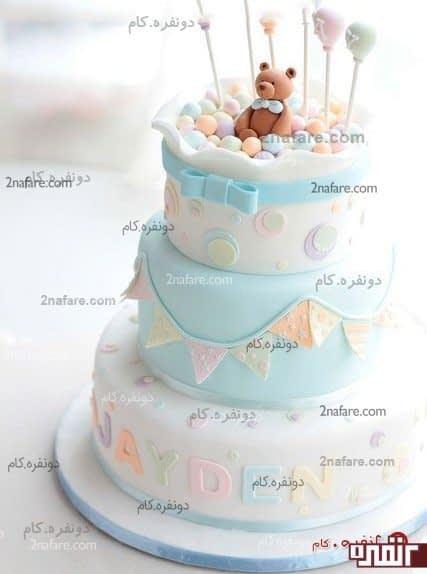 کیک تولد چند طبقه