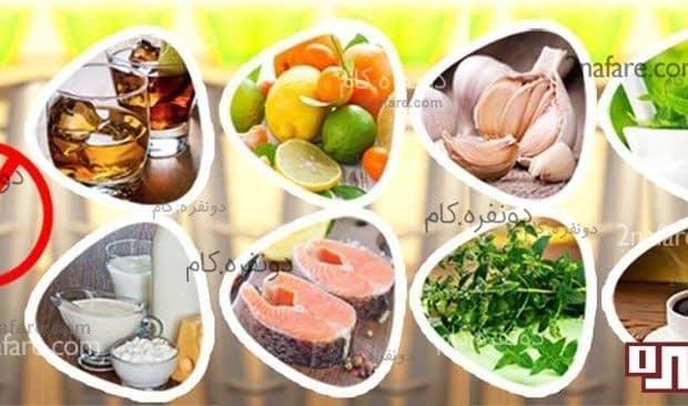غذاهای دردسر ساز در دوران شیردهی