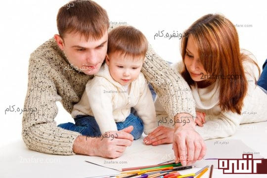 با فرزندتان زمان بگذرانید