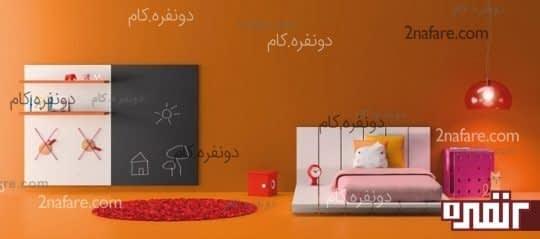 فضای نقاشی برای اتاق کودک