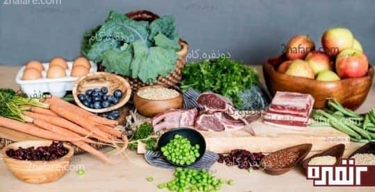 مواد غذایی حاوی سدیم و پتاسیم