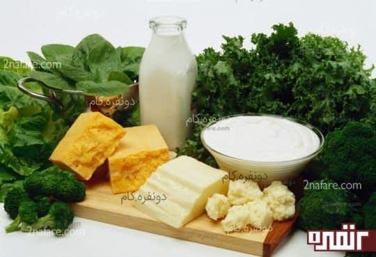 مواد غذایی حاوی کلسیم و منیزیم