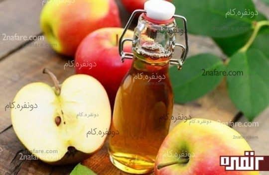 سرکه سیب و ضدعفونی دهان