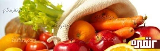سبزی و میوه های ترد