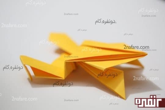 اوریگامی قورباغه