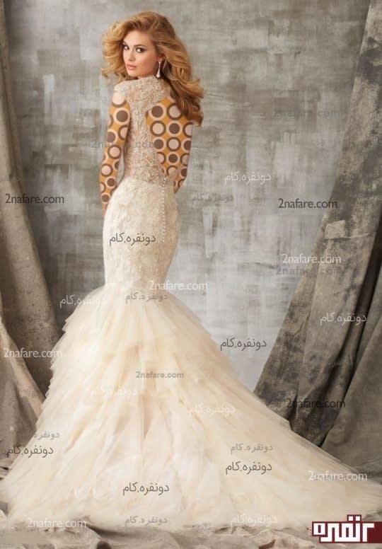 لباس عروس جدید مدل ماهی دنباله دار