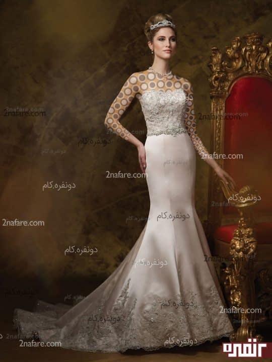 لباس عروس زیبای 2015