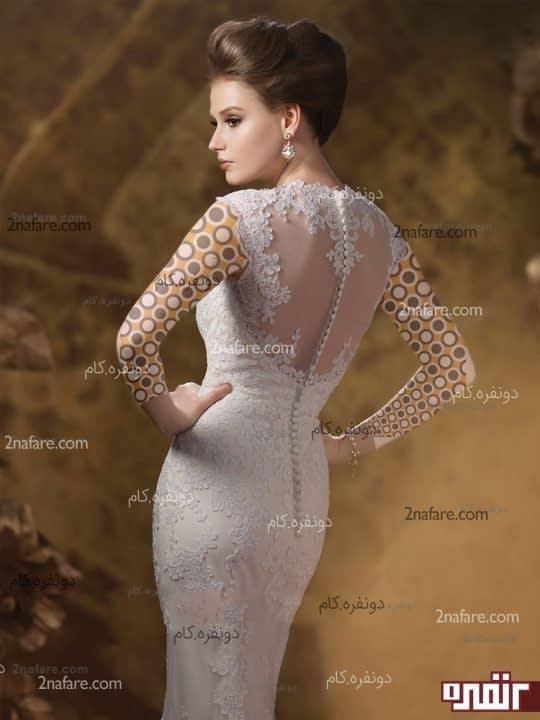 لباس عروس زیبا مدل 2015