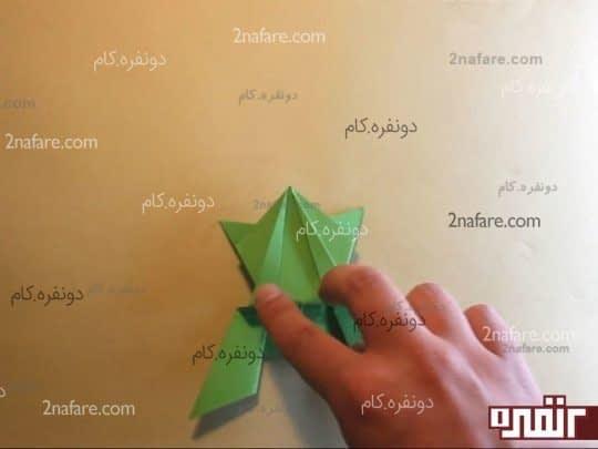 پریدن قورباغه کاغذی