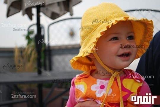 دوخت کلاه آفتابی بنددار دخترونه