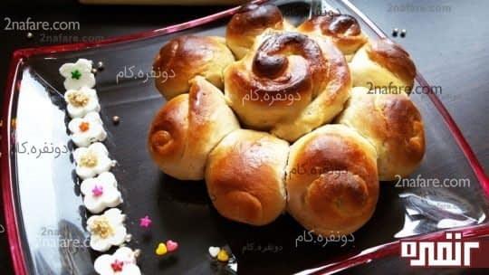 نان به سبک سینی رز