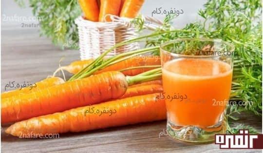 هویج و جلوگیری از سفید شدن موها