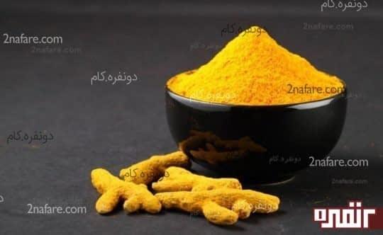 جوش شیرین ، زردچوبه ، آرد نخودچی و آبلیمو یک ماسک طبیعی برای پوست