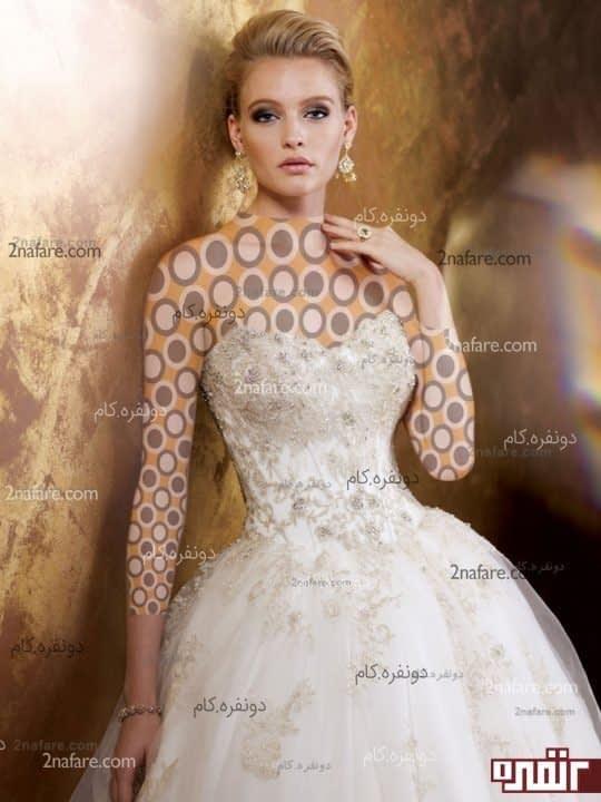 لباس عروس زیبا و جدید 2015