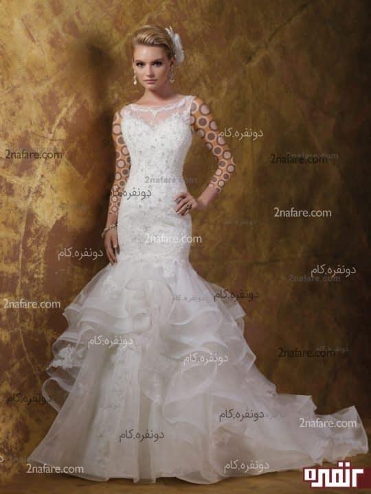لباس عروس زیبا 2015