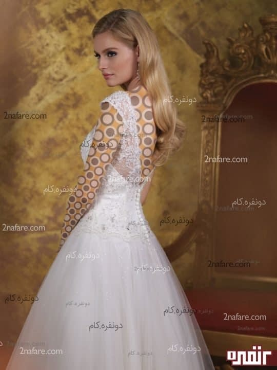 لباس عروس کوتاه و پفی