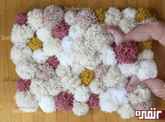ساخت فرش کاموایی به صورت مرحله به مرحله