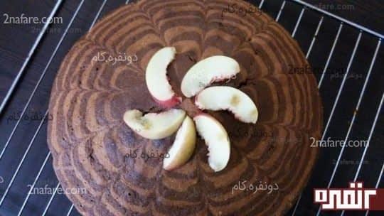 طرز تهیه ی کیک زبرا