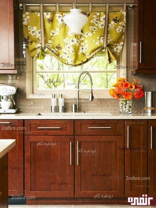 مدل پرده های مدرن و زیبا برای آشپزخانه