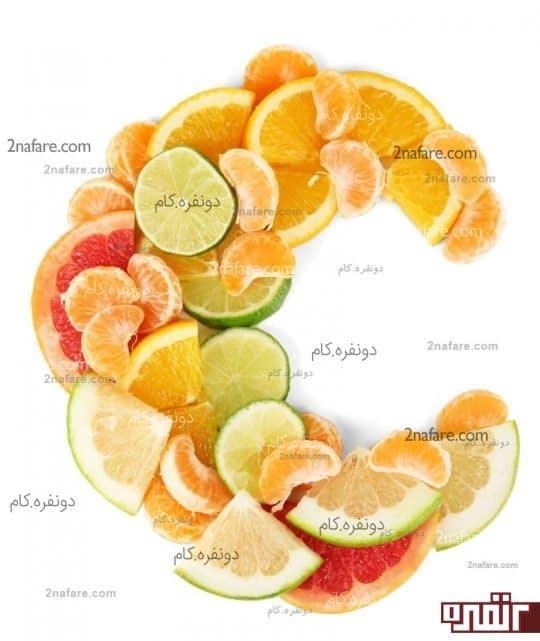 استفاده از ویتامین C برای از بین بردن سلول های مرده ی سطح پوست