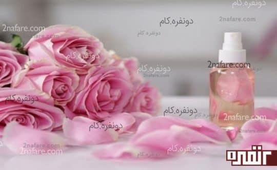 معجزه ی گلاب و گلیسیرین برای پوست