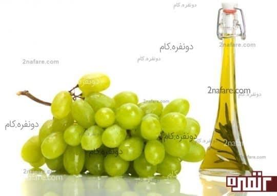 روغن هسته ی انگور بهترین مرطوب کننده ی طبیعی پوست