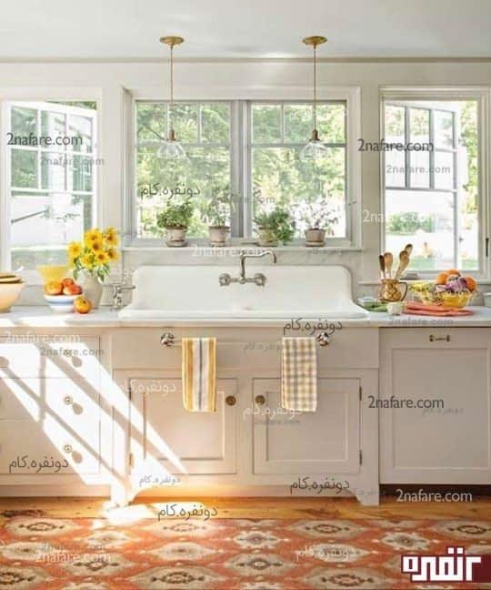 نکات کاربردی در شستشوی پرده های آشپزخانه