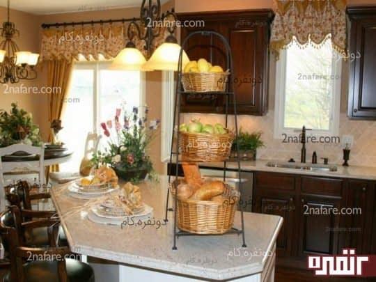 مدل پرده های مدرن و زیبا برای آشپزخانه سری دوم