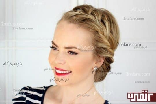 مدل موهای زیبا و آسان برای مهمانی