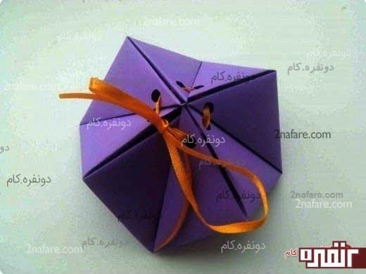 جعبه کادو اوریگامی