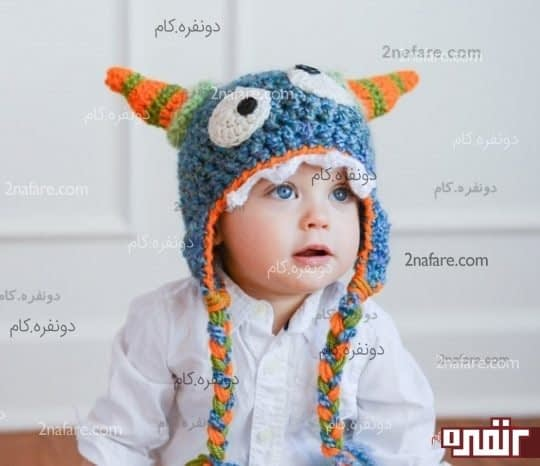 کلاه بچگانه عروسکی
