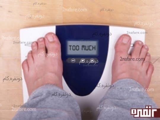 افزایش وزن بدن و چربی