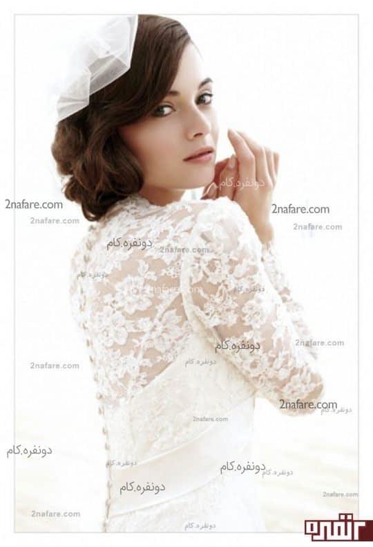 مدل موهای زیبا برای عروس