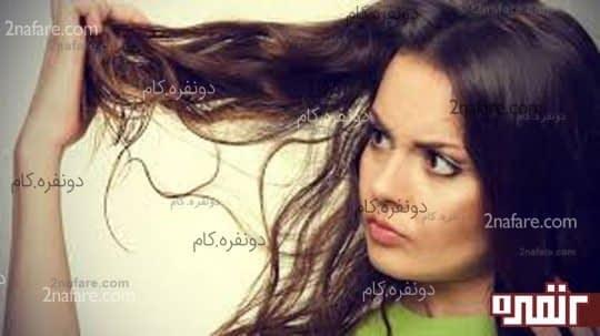 شکنندگی موها از رشد آنها جلوگیری میکند