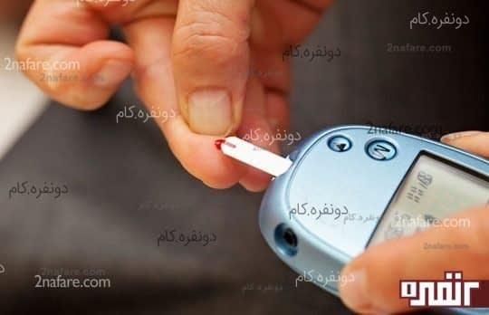 خطر ابتلا به دیابت و بیماری های قلبی
