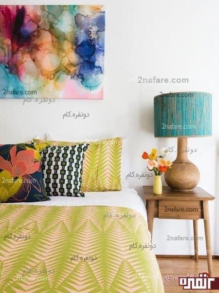 رنگ در اتاق خواب