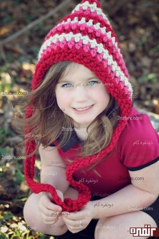 مدل زیبای کلاه دخترانه