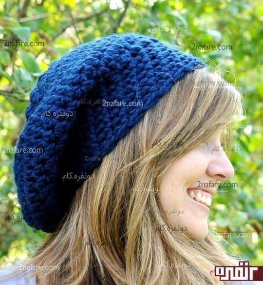 مدل کلاه شل دخترانه
