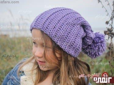 کلاه شل دخترانه