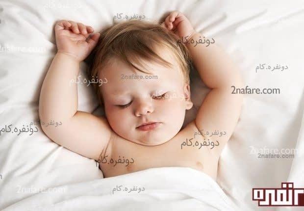 خوابیدن کودک