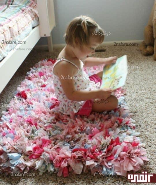 ساخت فرش پارچه ای به صورت مرحله به مرحله