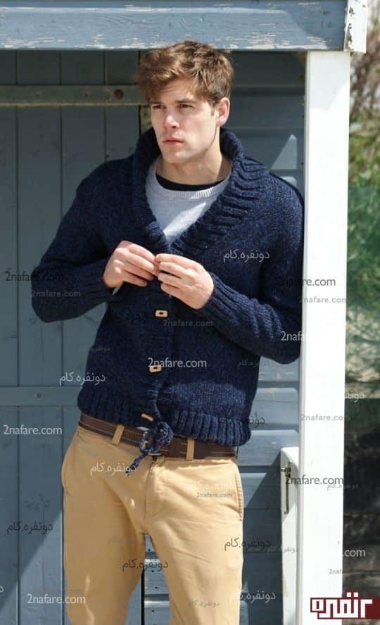 مدل های زیبای بافت مردانه