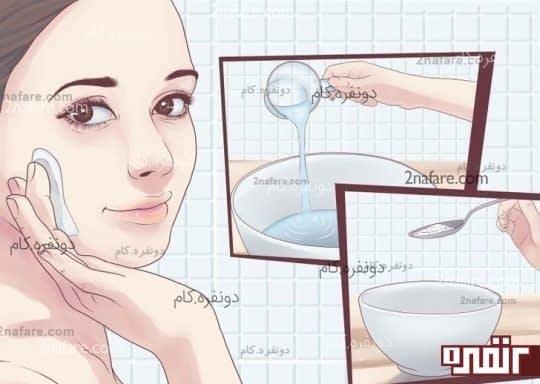 ماسک جوش شیرین برای پوست