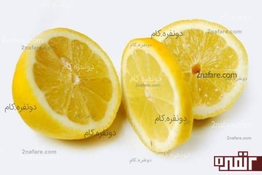 ماسک لیمو و شکر